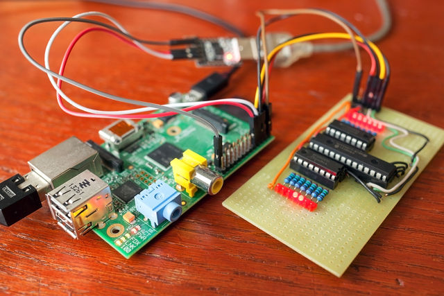 Android Raspberry Pi image.