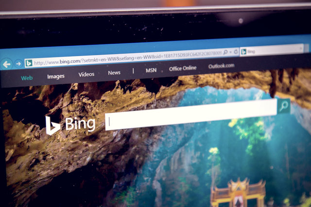 Bing loyalty scheme screenshot image by P3ak (via Shutterstock).
