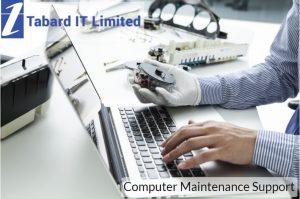 computer maintenance support